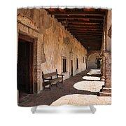 He Shall Rise Again, Mission San Juan Capistrano, California Shower Curtain
