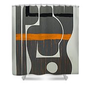 He Who Has No Name Shower Curtain