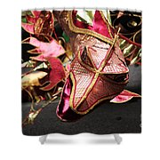 Head Of A Dragon At Leeds Carnival Shower Curtain