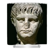 Head Of Nero Shower Curtain
