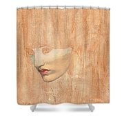 Head Of Proserpine Shower Curtain