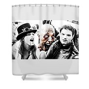 Head Of The Death Shower Curtain