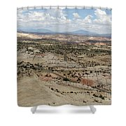 Head Of The Rocks Overlook - Utah's Scenic Byway 12 Shower Curtain