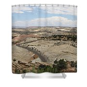Head Of The Rocks - Scenic Byway 12 Shower Curtain