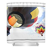 Headed For The Moon Shower Curtain