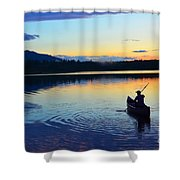 Heading Out At Sunset Shower Curtain