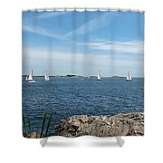 Heading Out Shower Curtain