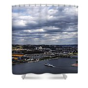 Heading To The Game Shower Curtain