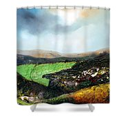 Heading To The Green Land Shower Curtain