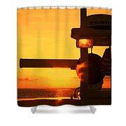 Heading Towards The Sun By Diana Sainz Shower Curtain
