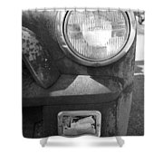 Headlight Of The Past Shower Curtain