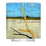 Headstand 2 Shower Curtain