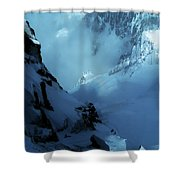 Headwall Mount Blanc Shower Curtain
