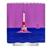 Headwater Lights 2 Shower Curtain