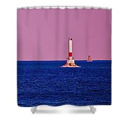 Headwater Lights Shower Curtain