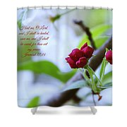 Heal Me Shower Curtain