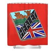 Healey Silverstone D Type Shower Curtain