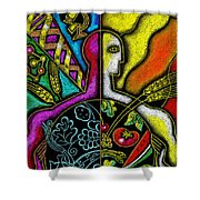 Health Food Shower Curtain