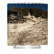 Healthy Dunes Shower Curtain by Adam Jewell