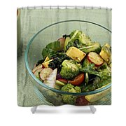 Healthy Mixed Salad Shower Curtain