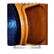 Hear No Evil - Industrial Abstract Shower Curtain