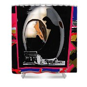 Hearse Driver Collage Young Billy Young Old Tucson Arizona Dirty Dingus Magee Mescal Az 1968/1970-20 Shower Curtain