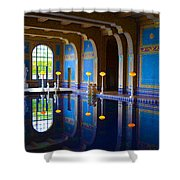 Hearst Castle Indoor Pool Shower Curtain
