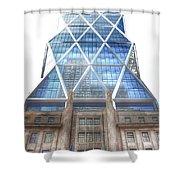 Hearst Tower - Manhattan - New York City Shower Curtain