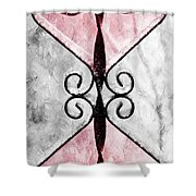 Heart 2 Heart Shower Curtain by Andee Design