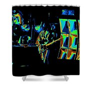 Heart #30abc Shower Curtain