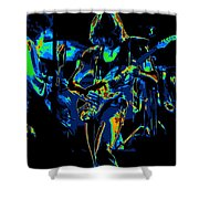 Heart #35abc Shower Curtain