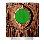 Heart Beat Of The Tree Shower Curtain