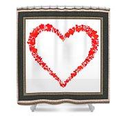 Heart Of Hearts II... Shower Curtain