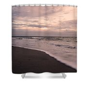 Heart Of The Evening Shower Curtain