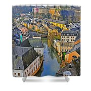 Heart Of Western Europe Shower Curtain