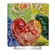 Heart To Heart G Shower Curtain