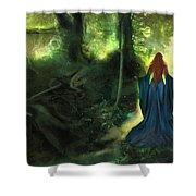 Heart Wood Shower Curtain