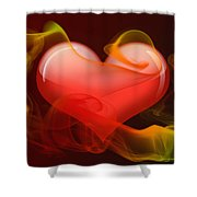 Heartbeat 4 Shower Curtain