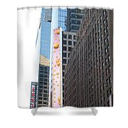 Hearts On The Run Shower Curtain