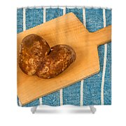 Hearty Potatoe Shower Curtain