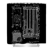 Heater Shower Curtain