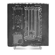 Heater Patent Shower Curtain