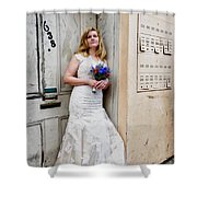 Heather On Royal St. Shower Curtain