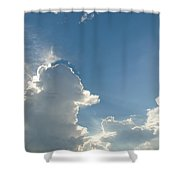 Heaven Above Shower Curtain