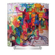 Heaven And Earth 1 Shower Curtain