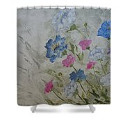 Heaven And Earth A Shower Curtain