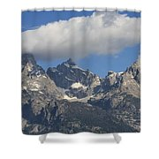Heaven Meets Earth Shower Curtain
