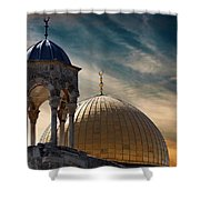 Heaven Next Door Shower Curtain