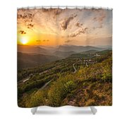 Heaven On Earth Shower Curtain by Davorin Mance