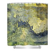 Heavenly Clouds Abstract Shower Curtain